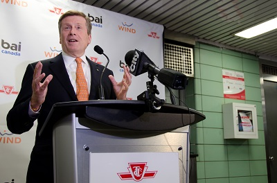 TTC, BAI Canada & WIND Mobile launch cellular service underground